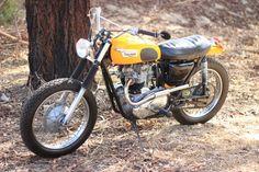 1971 Triumph TR6 650cc - Desert Sled