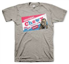 Chewy Bubble Gum tshirt Funny Humorous T shirt Star Wars Chewbacca on s-xl on Etsy, $14.95