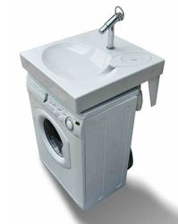 Space Saving Washbasin,Flat Bathroom Sink Fits Above Washing Machine - Buy Space-saving Washbasin Product on Alibaba.com