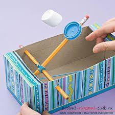 Картинки по запросу поделки из коробок