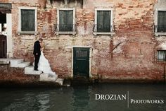 How lucky were we?!  Our wedding photographers were in Venice, Italy during our honeymoon.  Thank you Drozian Photoworks!
