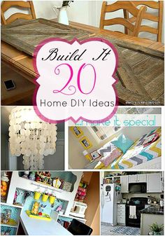 20 Build It Home DIY Projects