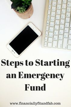 Starting an emergency fund can seem super overwhelming! However, it doesn't have to be. Check out these steps to start your emergency fund.