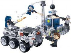 Missão Águia Tanque Espacial 328 Peças - BanBao