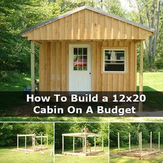 A small cabin can be a perfect way to spruce up that undeveloped land you own, or even a large space of personal property.This project willcosts 2k to build, but if you hunt around and re use older stuff or look on craigslist, you could pick up some pretty cheap or even FREE stuff to use on your cabin. I really want to have this on my land. So I will have to start saving my pennies. Check the full article below: