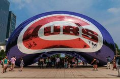 """The Bean"", Chicago ~ Cubs win it All!  2016"