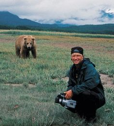 David Letterman: We're not going to open a newspaper one day and read about you being eaten by a bear, are we?
