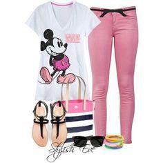 Stylish Disney Outfit <3