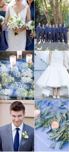 Colors, bridal gown and hair, flowers