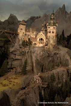 Castle | Diorama, Efteling, the Netherlands | traveling.the.world | Flickr