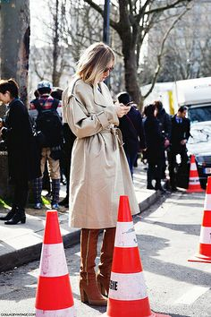 Paris_Fashion_Week_Fall_14-Street_Style-PFW-Trench-celine- | Flickr - Photo Sharing!