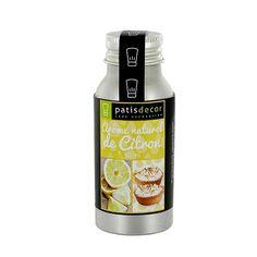 Arôme naturel Citron Patisdécor 50 ml