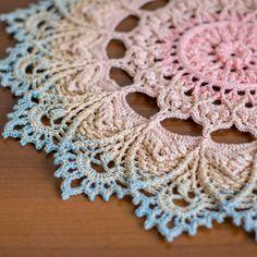 Free Crochet Doily Patterns, Crochet Designs, Crochet Doily Diagram, Crochet Dollies, Crochet Hooks, Thread Crochet, Star Patterns, Crochet Clothes, Doilies