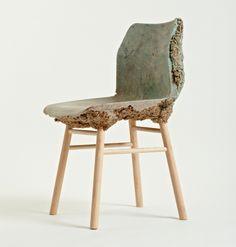 Waste Wood And Bio Resin Chair By Marjan Van Aubel + Jamie Shaw | 기술