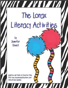 Earth Day literacy activities. There is a freebie attached for The Lorax.