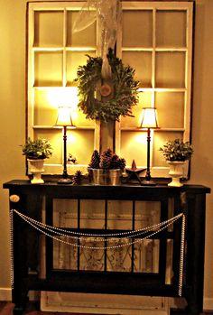 skinny foyer table