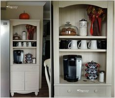 10 Places in Your Home Where You Can Set Up a Coffee Station 9