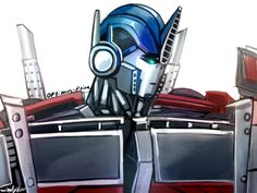 doodle of optimus. Transformers Decepticons, Transformers Optimus Prime, Rescue Bots, Fnaf, Fandoms, Yolo, Art Work, Doodle, Cartoons