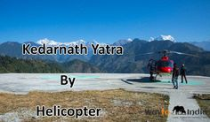 Read all about one of the most scenic travel experiences in Himalayas , as the helicopter flys over 10500 ft above sea level and the pilgrims reach one of the most pious pilgrimages.  http://travel-blog.waytoindia.com/kedarnath-yatra-by-helicopter/