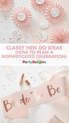 Looking for non-tacky hen party ideas? Read our classy hen do ideas to find out how to throw a classy hen party with classy decorations, hen party games and accessories. Hens Party Themes, Hen Party Decorations, Ideas Party, Classy Hen Party Ideas, Classy Ideas, Classy Bachelorette Party, Bachelorette Party Decorations, Wedding Party List, Wedding Ideas