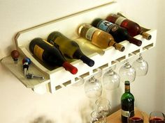 10 Free Diy Wine Rack Plans