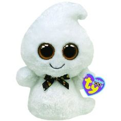 Ty Beanie Boos Phantom (I would love to create an amigurumi pattern to make something like this.)