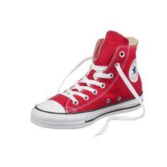 Converse All Star Hi Sneaker rot