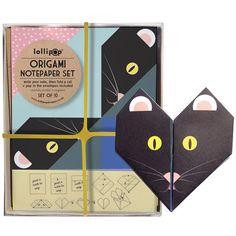 Оригами Notepaper Комплект: Кот