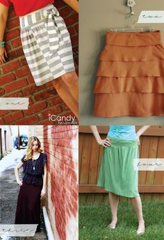 Skirts skirts skirts! sew-sew