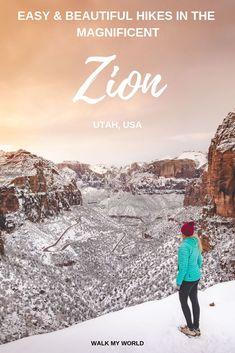 Beautiful and easy Zion National Park hikes that you shouldnt miss! Including epic lookouts beautiful scenery and diverse landscapes in one of our favourite national parks. National Parks Usa, Zion National Park, Florida Keys, Wyoming, South Carolina, Nevada, Illinois, Cities, Las Vegas