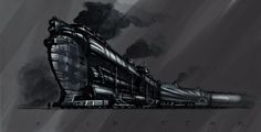 Image result for train concept art