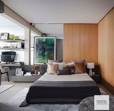The Convenience of Metal Buildings - Check Out THE PIC for Lots of Metal Building Ideas. Modern Interior Design, Interior Architecture, Home Bedroom, Bedroom Decor, Master Bedrooms, Steel Building Homes, My Ideal Home, Up House, Suites