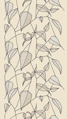 <<TR>>Marimekko Sarastaa fabric, designed by Erja Hirvi