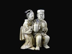 Antique Japanese Ivory Netsuke