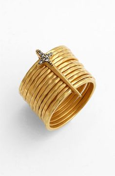 Rachel Roy & Deepak Chopra Stack Ring available at #Nordstrom