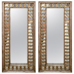 A Pair of Neoclassical Style Mirrors