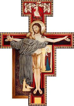 O DIÁRIO DE DEUS: O Crucifixo Bizantino De São Damião