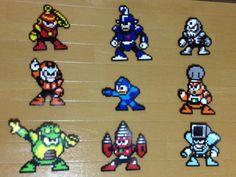 Robot masters from mega man 4