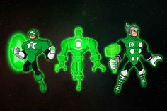 The Emerald Avengers | 23 Heroes Who Would Make Incredible Green Lanterns
