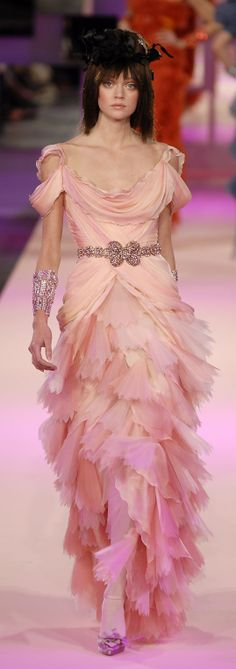 Christian Lacroix Haute Couture Spring 2007  #FashionSerendipity Fashion and Style