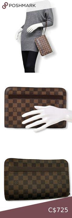 Check out this listing I just found on Poshmark: Louis Vuitton Saint Louis Clutch. #shopmycloset #poshmark #shopping #style #pinitforlater #Louis Vuitton #Handbags