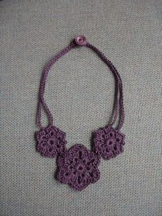 Crochet necklace patterns