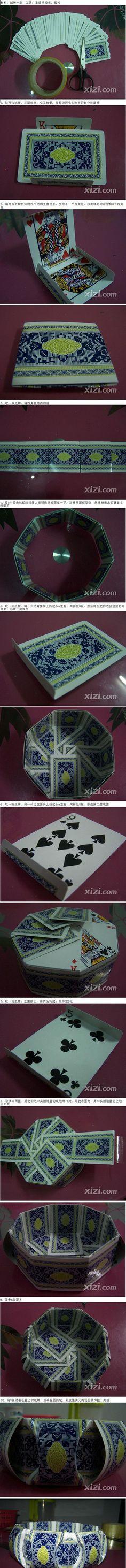 DIY Playing Cards Bowl DIY Projects | UsefulDIY.com
