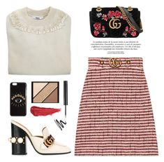 """""""OOTD"""" by yexyka ❤ liked on Polyvore featuring Kenzo, Elizabeth Arden, Gucci, By Terry and gucci"""