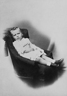 Heinrich Graf: Berlin (1837-84) - Prince Ernest Louis of Hesse, January 1871 [in Portraits of Royal Children Vol.15 1870-71]
