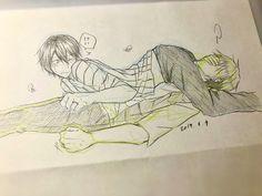 Love Stage Anime, Anime Love, Anime Guys, Canon Anime, Jungkook Fanart, Cute Anime Wallpaper, Animal Sketches, Anime Angel, Shounen Ai