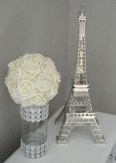 Eiffel Tower Centerpiece. Parisians Theme Decor. by KimeeKouture