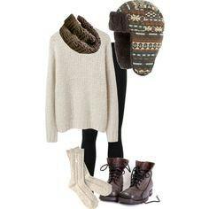 ♥ super cute winter outfit!