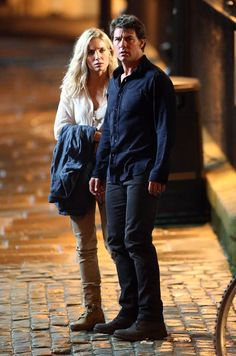 Tom Cruise on the set of The Mummy with Annabelle Wallis|Lainey Gossip Entertainment Update