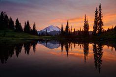 Tipsooo Lake Sunset